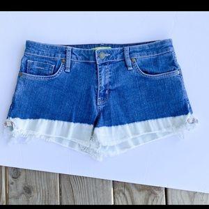 Gianni Bini | Bleach Washed Jean Shorts
